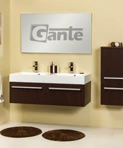 vanity unit 120cm wenge
