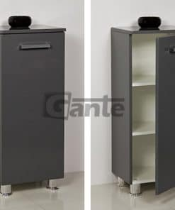 grey storage unit 40 cm
