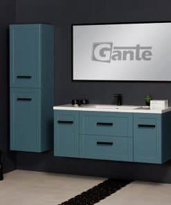vanity unit 120cm blue